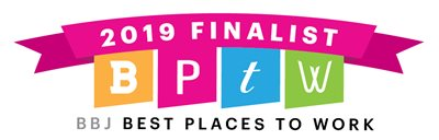 an image of the 2019 Best Places to Work banner